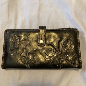 Relic checkbook wallet